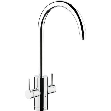 Abode PT1001 Pronteau Profile 4 in 1 Instant Hot & Filtered Water Tap - Chrome