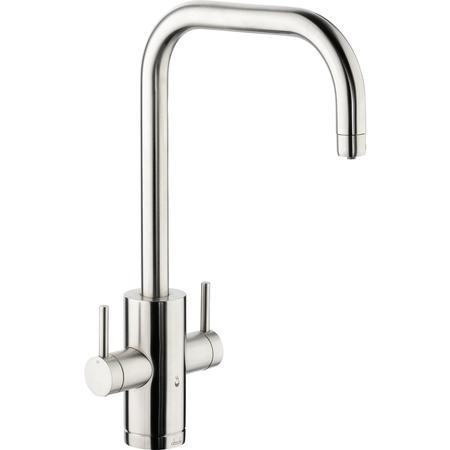 Abode PT1004 Pronteau Project 4 in 1 Instant Hot & Filtered Water Tap - Brushed Nickel