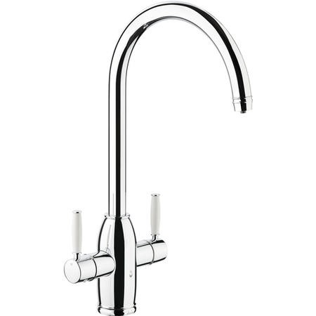 Abode PT1005 Pronteau Province 4 in 1 Instant Hot & Filtered Water Tap - Chrome