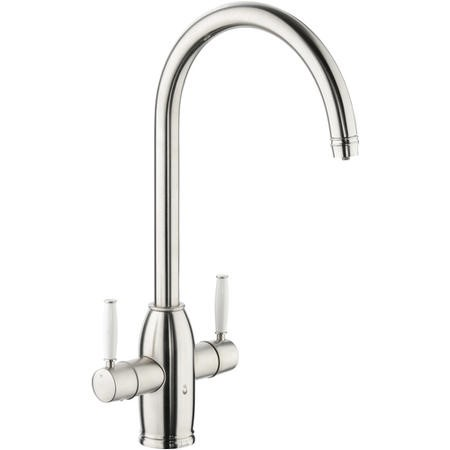 Abode PT1006 Pronteau Province 4 in 1 Instant Hot & Filtered Water Tap - Brushed Nickel