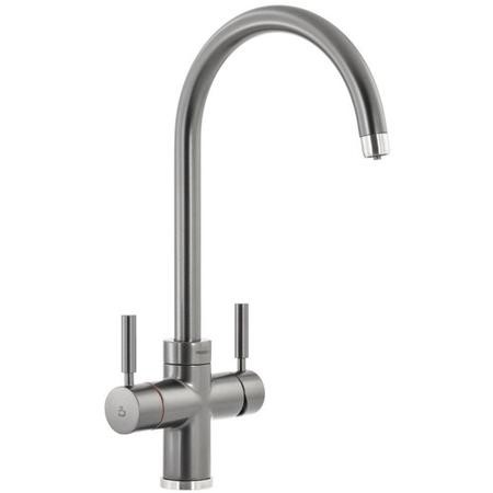 Abode PT1103 Pronteau 3 in 1 Prostream Monobloc Instant Boiling Water Tap - Graphite