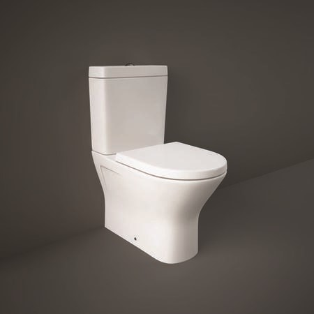 RAK Resort Mini Close Coupled Toilet with Soft Close Seat