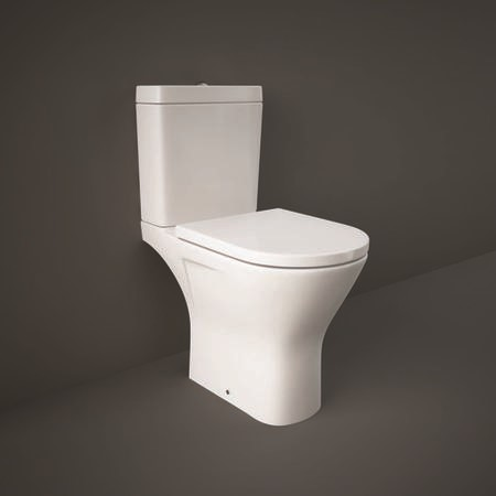RAK Resort Maxi Close Coupled Toilet and Soft Close Seat