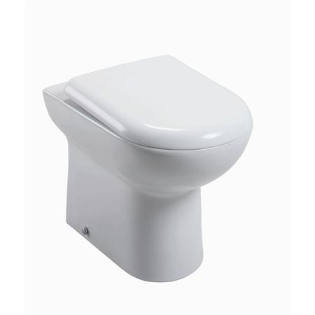D Shaped Soft Close Quick Release Toilet Seat