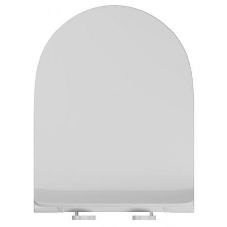 D Shaped Slimline Soft Close Quick Release Toilet Seat