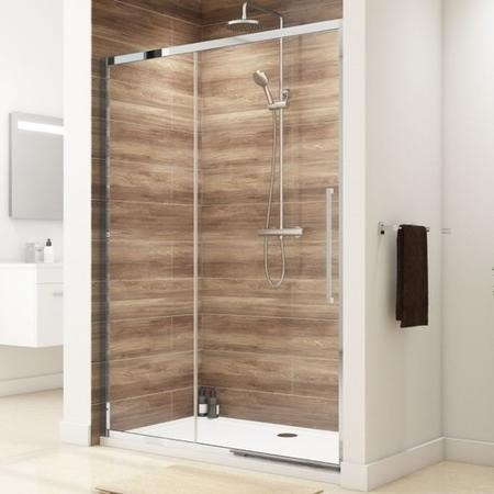 1400 Sliding Shower Door - 8mm Easy Clean Glass - Taylor & Moore