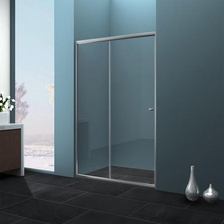 1000 Sliding Shower Door - Universal Fit 4mm Glass- Taylor & Moore