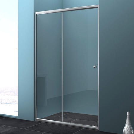 GRADE A1 - 1200 Sliding Shower Door - Universal Fit 4mm Glass - Taylor & Moore