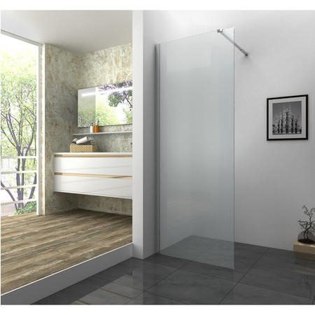Walk in Glass Shower Screen - 1180 x 2000mm -  Universal Fir 10mm Glass - Taylor & Moore