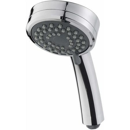 Triton 3 Spray Pattern Shower Handset - Chrome