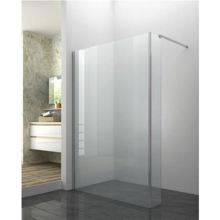 Walk In Shower Enclosure and Return Panel