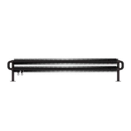 Heban Horizontal Radiator 190 x 1540mm - Industrial Style