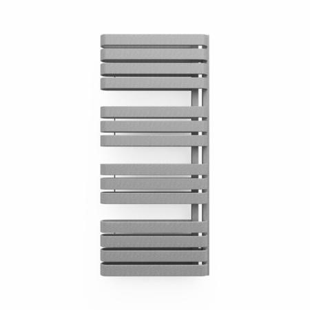 Textured Grey Vertical Bathroom Towel Radiator 1100 x 500mm
