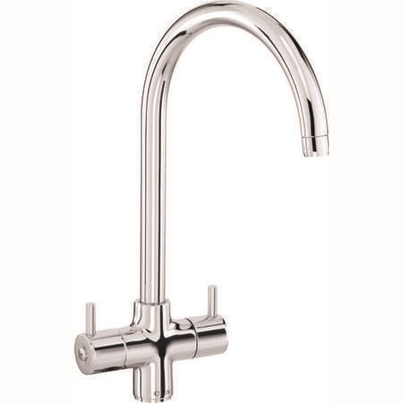 CDA TC55CH Monobloc Tap with Swan Neck Spout