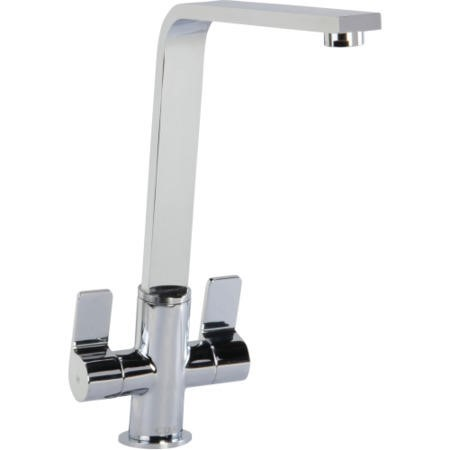 CDA TC77CH Contemporary Slant Monobloc Tap Chrome