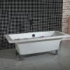 GRADE A2 - Athena Traditional Double Ended Freestanding Bath - 1690 x 740 x 570mm