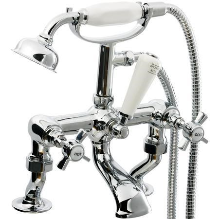 GRADE A1 - Elod Traditional Bath Shower Mixer Tap