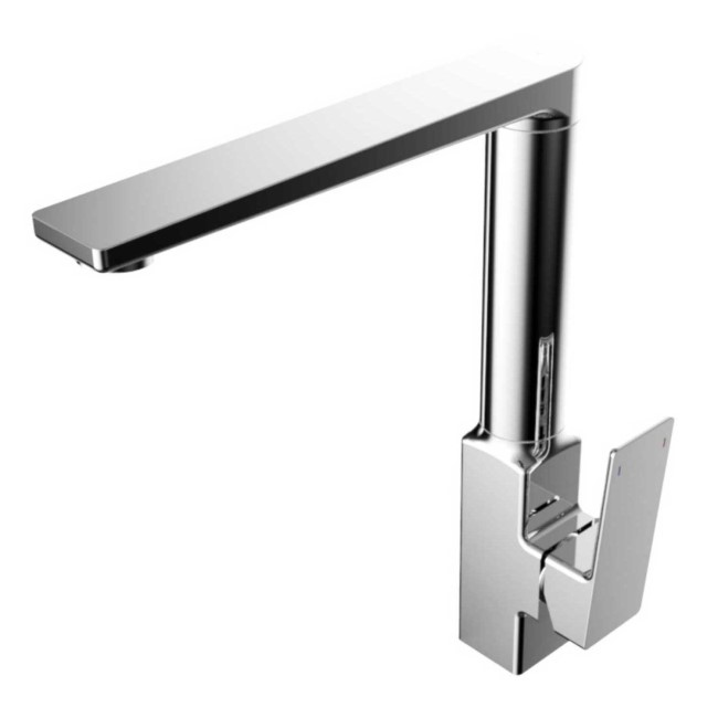 Enza Ultimo Chrome Single Lever Mixer Kitchen Tap