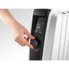 DeLonghi Dragon 4 2kW Oil Filled Radiator 8 Fin with Digital Display & Increased Radiant Surface - 10 Year Warranty