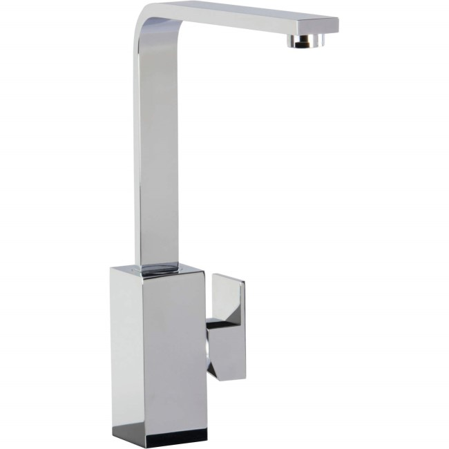 CDA Chrome Single Side Lever Kitchen Tap