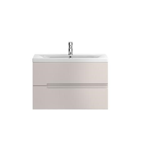 Hudson Reed Cashmere Wall Hung Bathroom Cabinet & Basin - W810 x H500mm