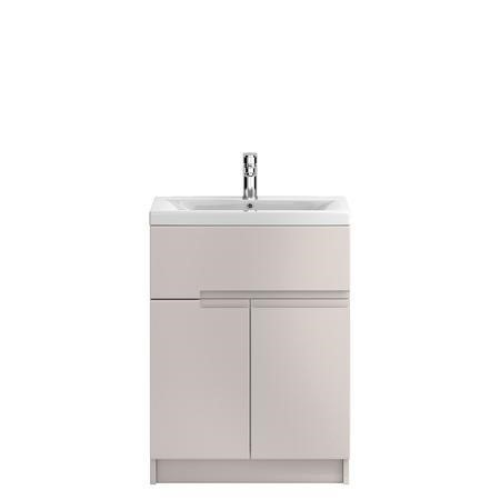 Hudson Reed Cashmere Floor Standing Bathroom Cabinet & Basin - W615 x H855mm