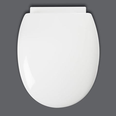Croydex Anti-Bacterial Polypropylene Toilet Seat with Soft-Close Hinge