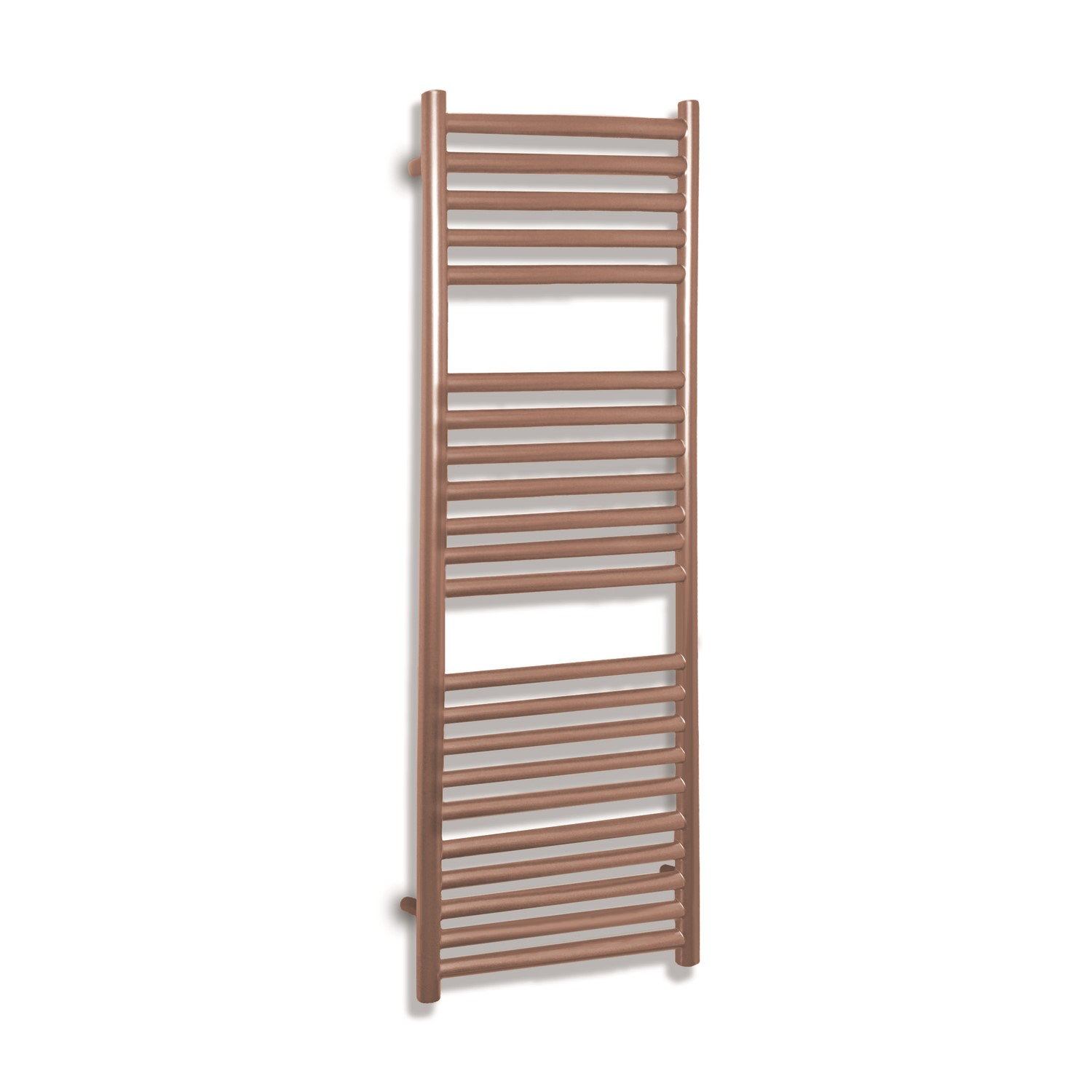 Joanna Rose Gold Heated Towel Rail 800 X 500mm Better Bathrooms