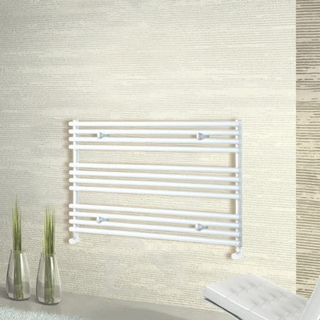 White Horizontal Radiator 600 x 1000mm