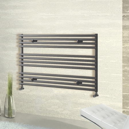 Anthracite Horizontal Radiator 600 x 1000mm