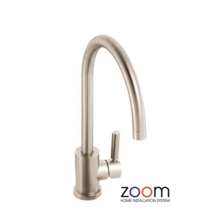 Zoom ZP1047 Atlas Single Lever Brushed Nickel Mixer Tap