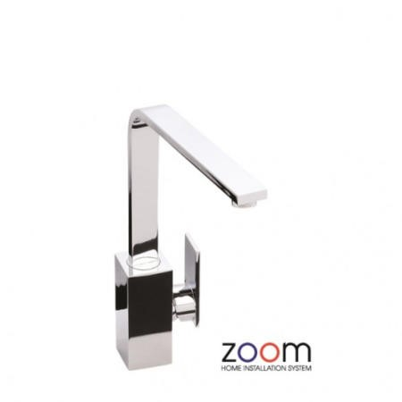 Zoom ZP1063 New Media Single Lever Chrome Mixer Tap