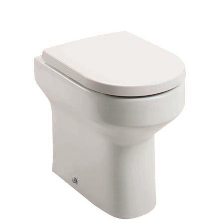 Arc Comfort Height Back to Wall Toilet - Without Seat