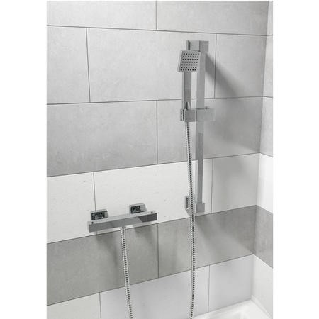 Thermostatic Shower with Thermostatic Valve & Slide Rail Kit