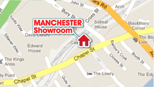 Map Manchester Showroom