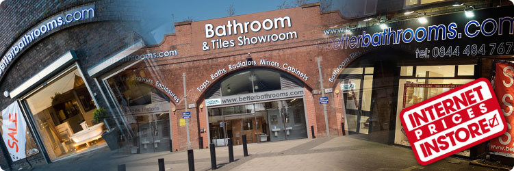 Betterbathrooms showrooms
