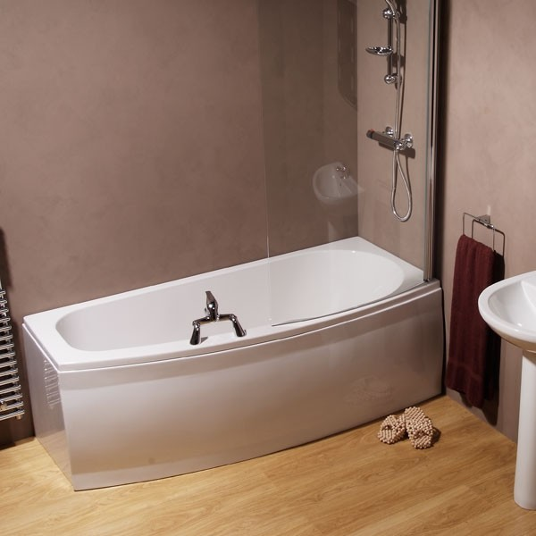 Compact 1700 x 695 Spacesaver Right Hand Bath .
