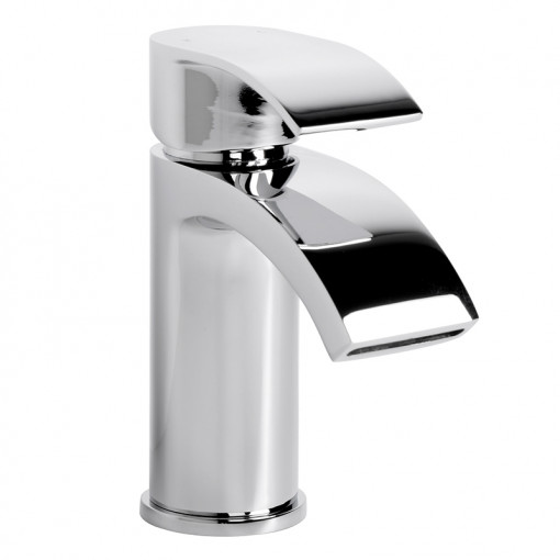 Rivera Waterfall Tap Pack with Basin Waste