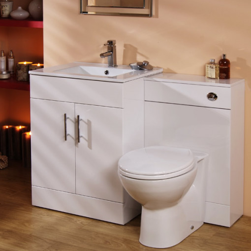Aspen 60cm vanity unit wc - Combination bathroom vanity units ...