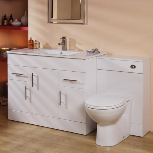 Aspen™ 100cm Vanity Unit & WC