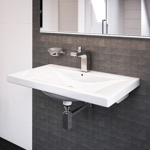 Auckland 500mm Wall Mounted Basin