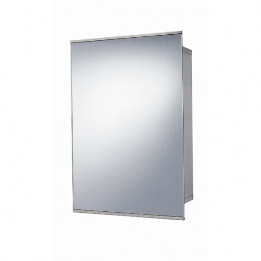 Stainless Steel Sliding Door Mirrored Cabinet 500 H 340 W 160 D