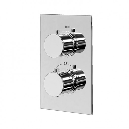 Neptune Slide Shower Rail Kit with EcoS9 Dual Valve & Wall Outlet