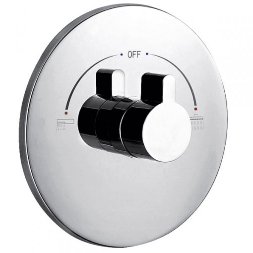 Doriano Premium Concealed Dual Control Shower Valve with Diverter