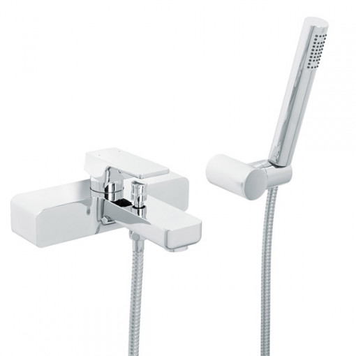 Serrato Wall Mounted Bath Shower Mixer