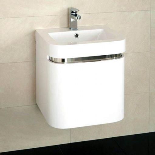 Rovigo Murcia 50 Wall Mounted Vanity Drawer Unit Suite