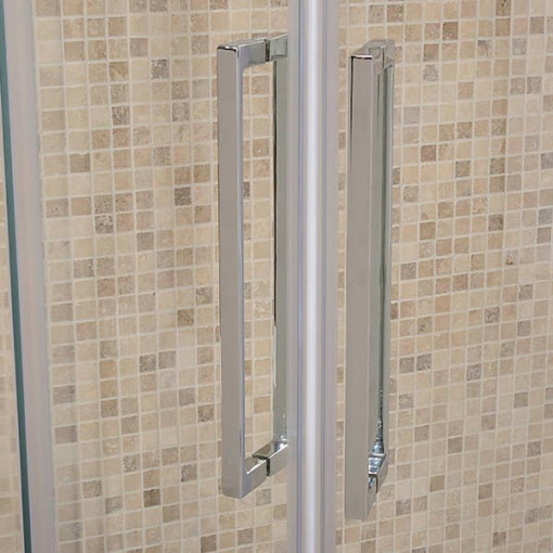 Aquafloe™ Elite ll 8mm 900 x 900 Frameless Sliding Door Quadrant Shower Enclosure