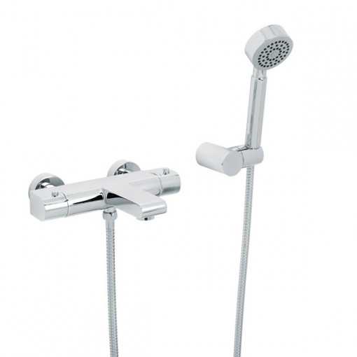 Vitalia Premium Wall Mounted Bath Shower Mixer with Handset