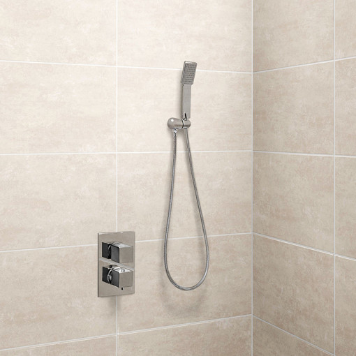 EcoCube Dual Control Shower Valve with Handset and Head
