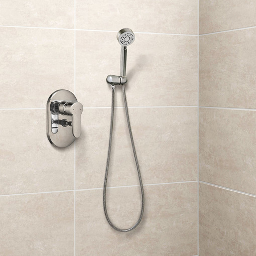 Nuovo Premium Concealed Dual Control Shower Mixer with Overflow and Handset